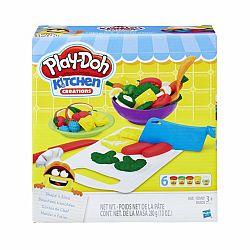Play-Doh Kitchen Creations - szeletelő készlet (kép 1)