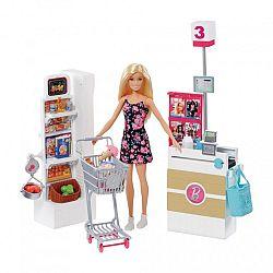 Barbie szupermarket babával (kép 1)