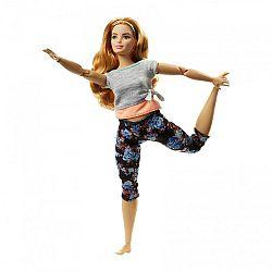 Barbie hajlékony jógababa ÚJ - molett (kép 1)