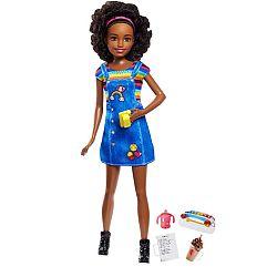 Barbie bébiszitter baba - Afroamerikai lány (kép 1)