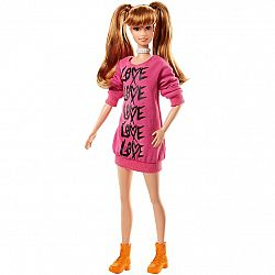 Barbie Fashionista barátnők - magas világosbarna hosszú pulcsiban (kép 1)