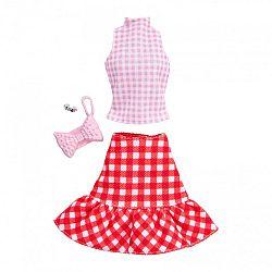 Barbie ruhák - Kockás szett kiegészítőkkel (kép 1)