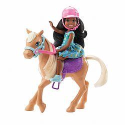 Barbie Chelsea baba pónival (kép 1)