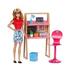Barbie szoba babával - iroda (kép 1)