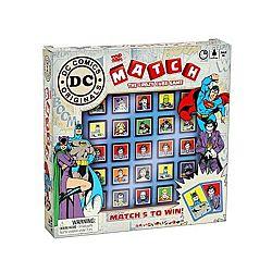 Match DC Comics társasjáték (kép 1)