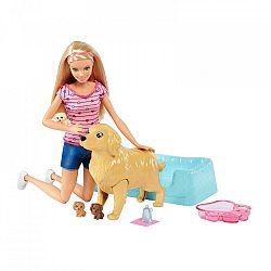 Barbie újszülött kutyusok babával (kép 1)