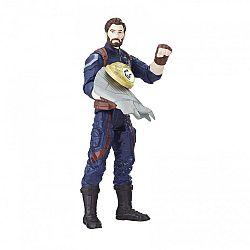 Bosszúállók: Végtelen háború közepes figura kővel - Amerika kapitány (kép 1)
