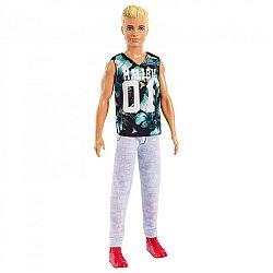 Barbie Fashionista fiú babák - Szőke Malibu atlétában (kép 1)