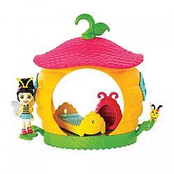 Enchantimals Petal Park házikói - Méhkas hálószoba játékszett (kép 1)