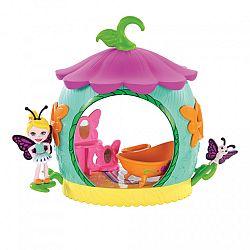 Enchantimals Petal Park házikói - Pillangós fürdő játékszett (kép 1)