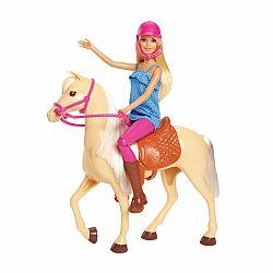 Barbie lovas szett babával (kép 1)