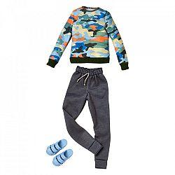 Barbie Ken ruhák - Terep mintás pulcsi (kép 1)