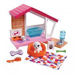 Barbie mesés kutyaház kiegészítőkkel (kép 1)