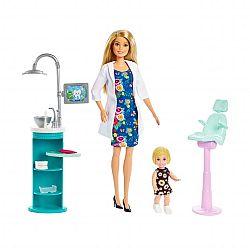 Barbie karrier játékszett - Fogorvos (kép 1)