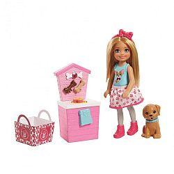 Barbie Chelsea kutyusos játékszett (kép 1)
