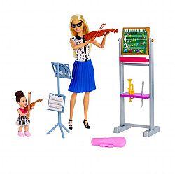 Barbie karrier játékszett - Zenetanár (kép 1)