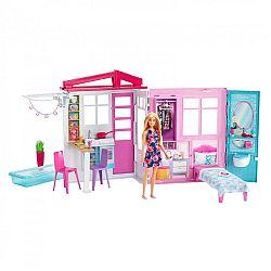 Barbie tengerparti ház babával (kép 1)