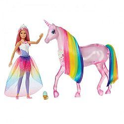 Barbie Dreamtopia csillámfény unikornis babával (kép 1)