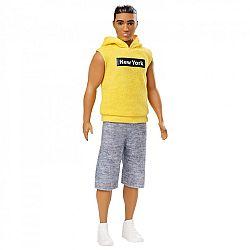 Barbie fashionista Ken babák - Barna sárga mellényben széles (kép 1)