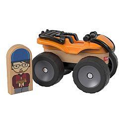 Fisher-Price Wonder Makers járművek - Narancssárga quad (kép 1)