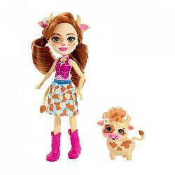 Enchantimals baba állatkával - Cailey Cow és Curdle (kép 1)