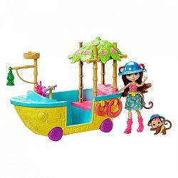 Enchantimals Dzsungelhajó játékszett (kép 1)