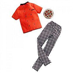 Barbie Ken karrier ruhák - pizzaséf (kép 1)
