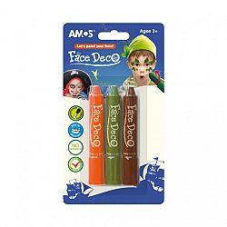 Amos Arcfesték 3 féle színnel - fiús (kép 1)