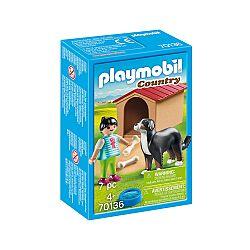 Playmobil Country - Kislány kutyával és kutyaházzal 70136 (kép 1)