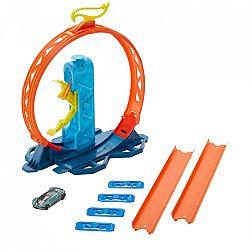 Hot Wheels Track builder - gyorsító hurok játékszett (kép 1)
