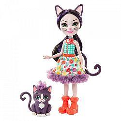 Enchantimals baba állatkával - Ciesta Cat és Climber (kép 1)