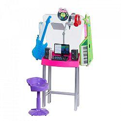 Barbie karrier kiegészítő szett - zenestúdió (kép 1)