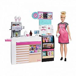 Barbie kávézó babával (kép 1)