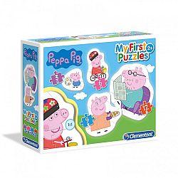 Clementoni bébi puzzle - Peppa malac (kép 1)