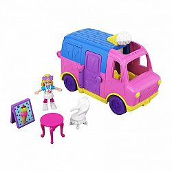 Polly Pocket átalakítható járművek - Fagyis kocsi (kép 1)