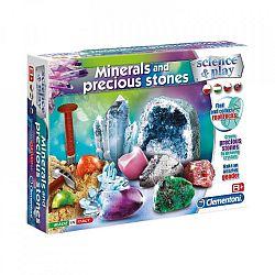 Clementoni tudomány és játék - Ásványok és drágakövek (kép 1)