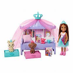 Barbie Princess Adventure Chelsea hercegnő hálója játékszett (kép 1)