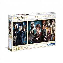 Clementoni High Quality Collection puzzle 3x1000 db - Harry Potter (kép 1)