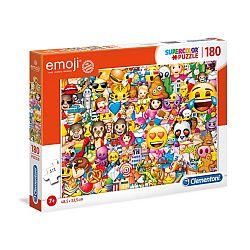 Clementoni supercolor puzzle 180 db - Emoji (kép 1)