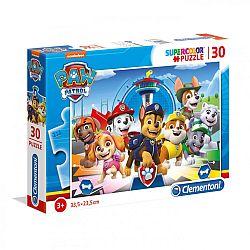 Clementoni supercolor puzzle 30 db - Mancs őrjárat (kép 1)