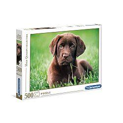 Clementoni High Quality Collection puzzle 500 db - Labrador kölyök (kép 1)