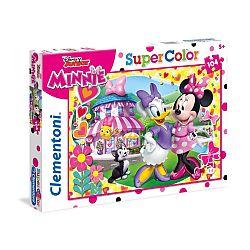 Clementoni supercolor puzzle 104 db - Minnie (kép 1)