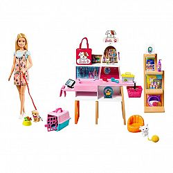 Barbie kisállat bolt készlet (kép 1)