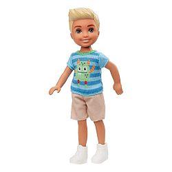 Barbie Chelsea babák - szőke kisfiú szörnyes felsőben (kép 1)