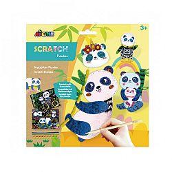 Avenir 3D képkarcoló zsenília dróttal - Panda (kép 1)