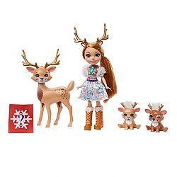 Enchantimals baba állatka családdal - Rainey Reindeer és a rénszarvasok (kép 1)