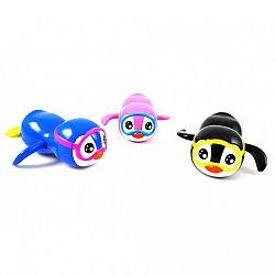 Magni felhúzható pingvin fürdőjáték - pink (kép 1)