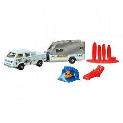 Matchbox utánfutós kisautó - lakókocsi (kép 1)
