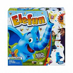 Elefun - Lepkefújó elefánt ügyességi társasjáték (kép 1)