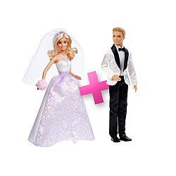 Barbie menyasszony és vőlegény csomag (kép 1)